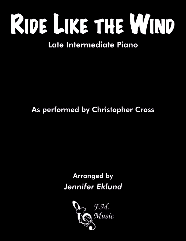 Ride Like the Wind (Late Intermediate Piano)