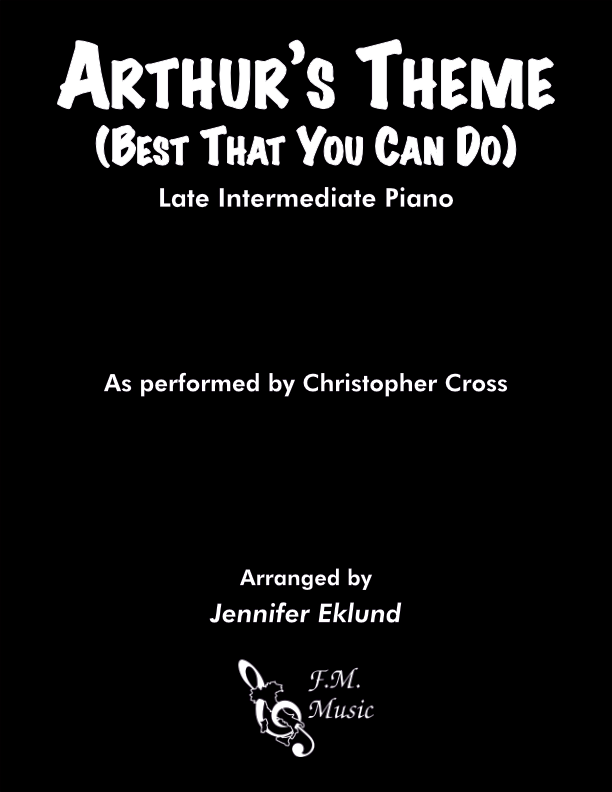 Arthur's Theme (Late Intermediate Piano)