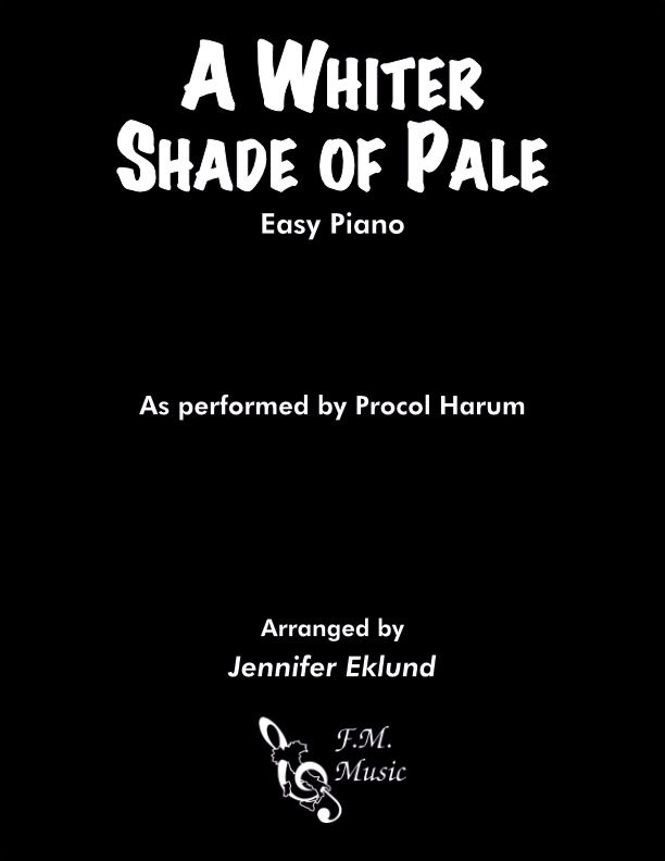 A Whiter Shade of Pale (Easy Piano)