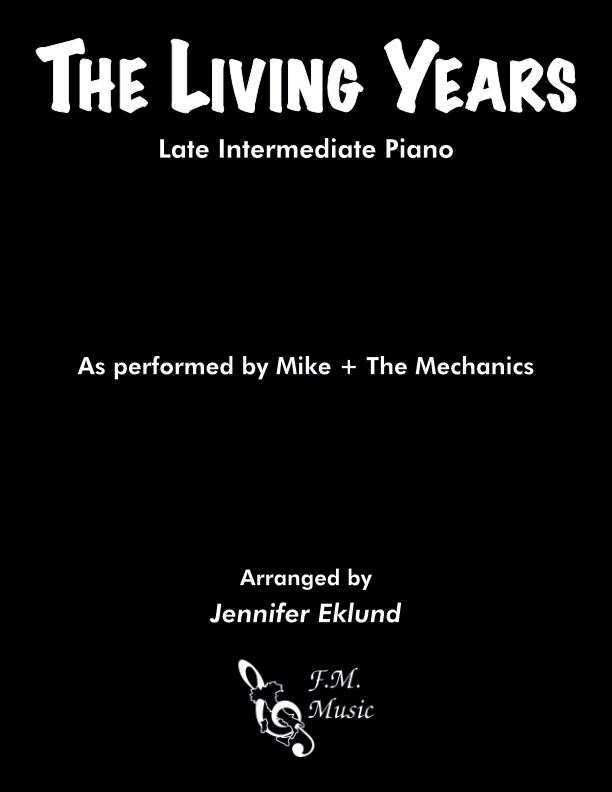 The Living Years (Late Intermediate Piano)
