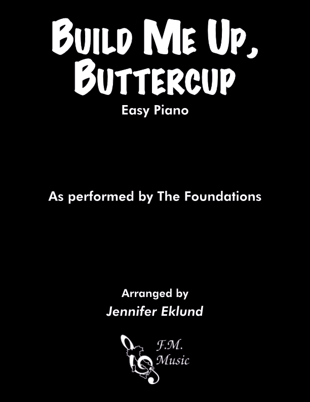 Build Me Up, Buttercup (Easy Piano)