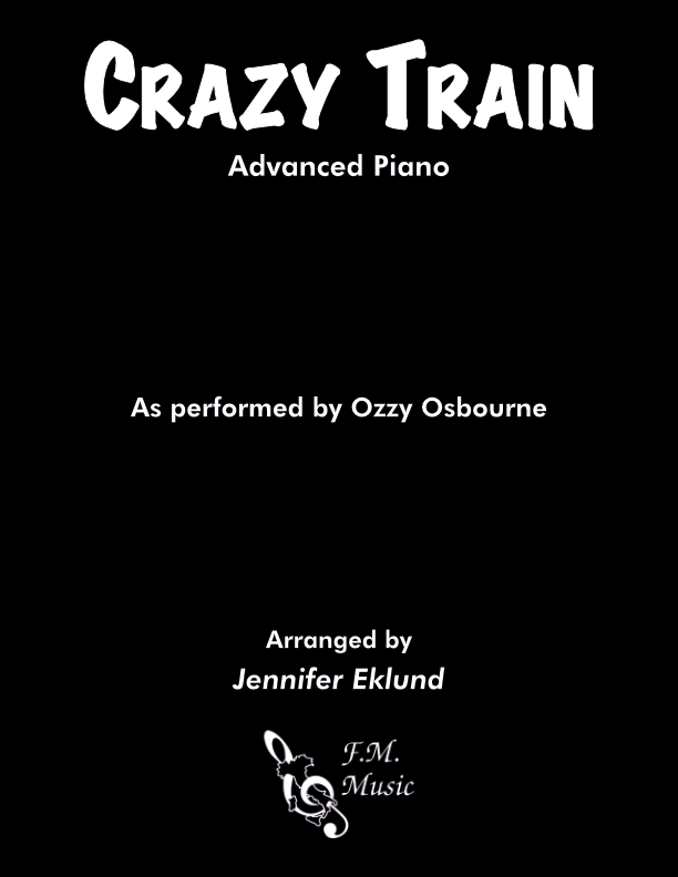 Crazy Train (Advanced Piano)