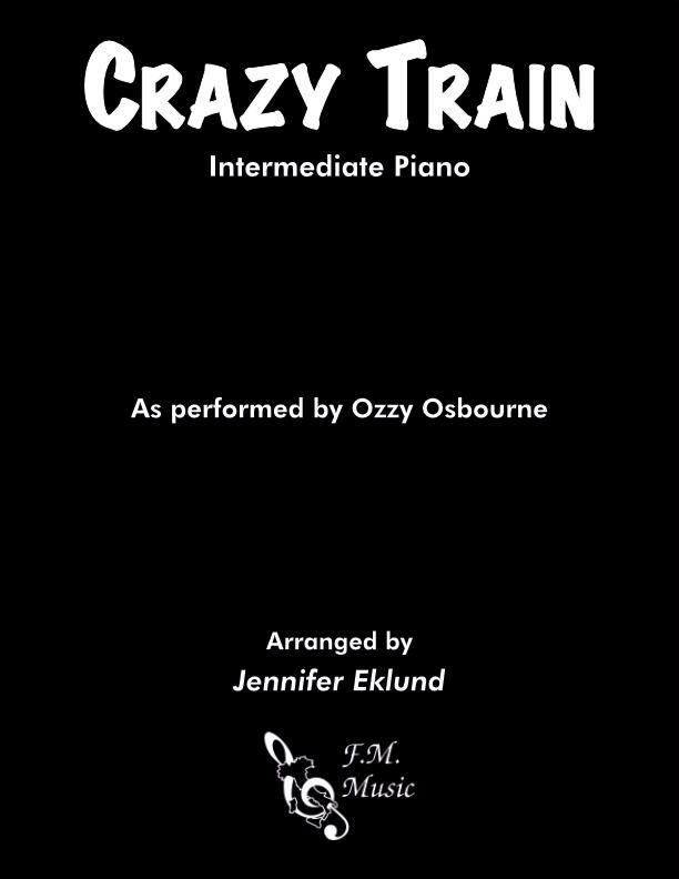 Crazy Train (Intermediate Piano)