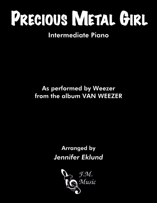 Precious Metal Girl (Intermediate Piano)