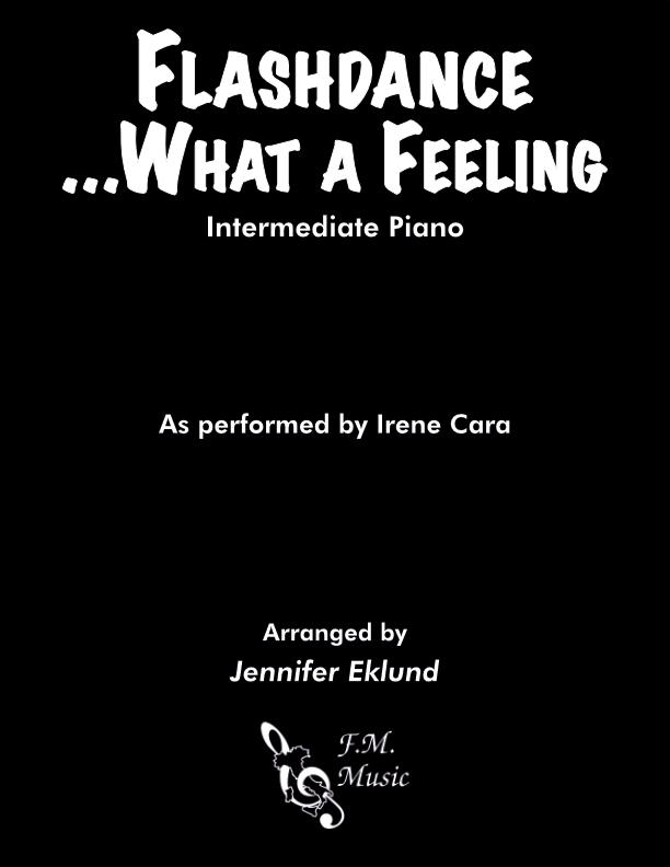 Flashdance...What a Feeling (Intermediate Piano)