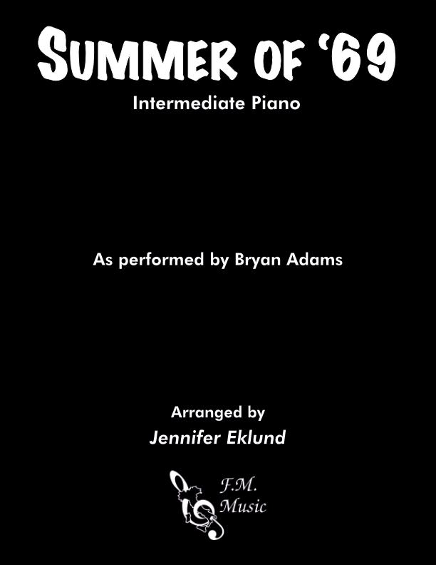 Summer of '69 (Intermediate Piano)