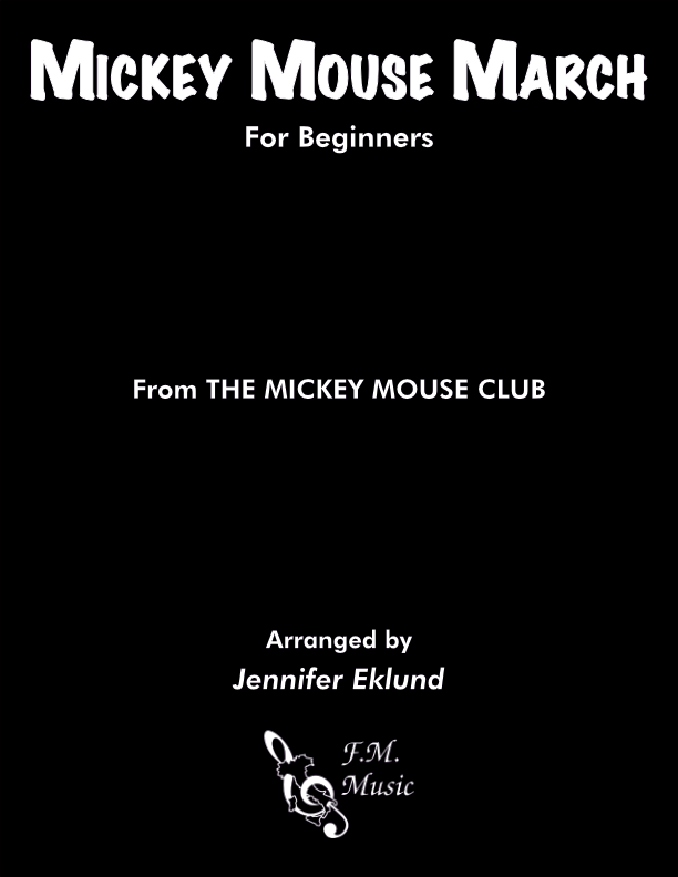 Mickey Mouse March (for Beginners)
