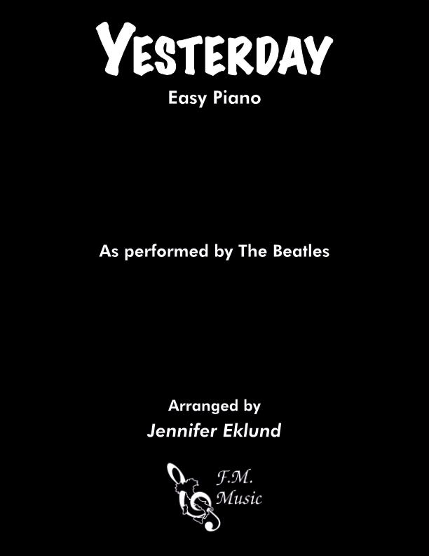 Yesterday (Easy Piano)
