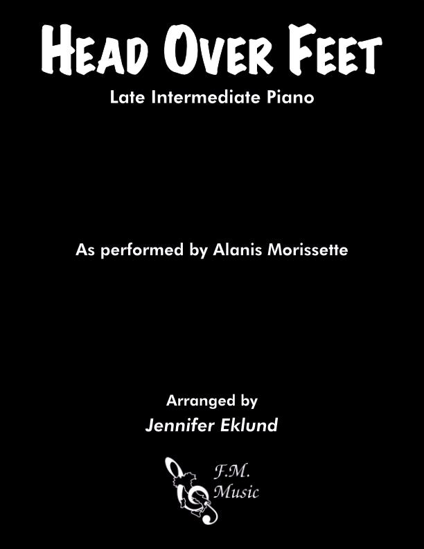 Head Over Feet (Late Intermediate Piano)