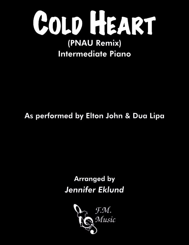 Cold Heart (Intermediate Piano)