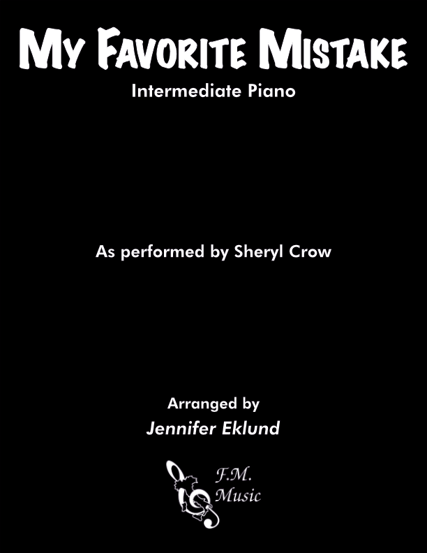 My Favorite Mistake (Intermediate Piano)