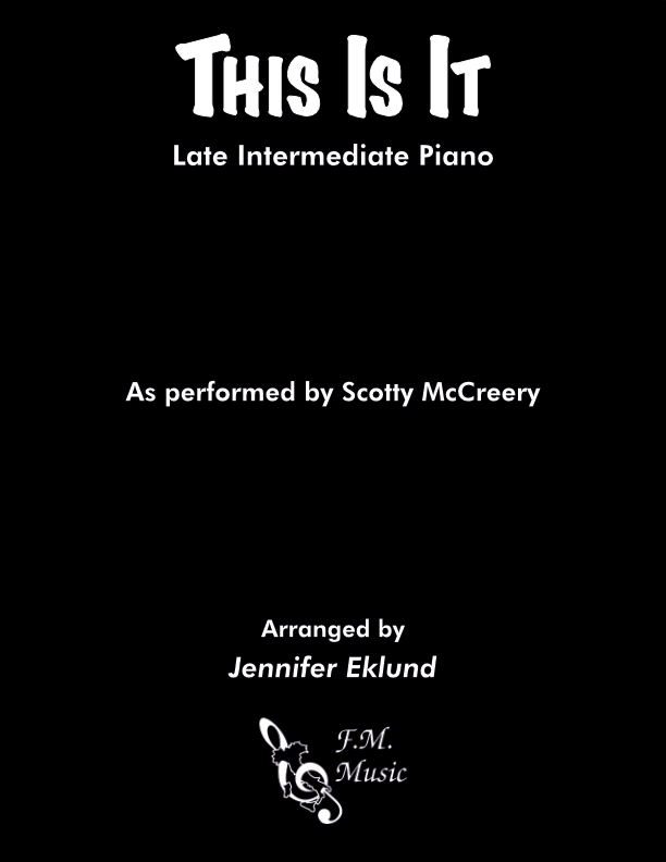 This Is It (Late Intermediate Piano)