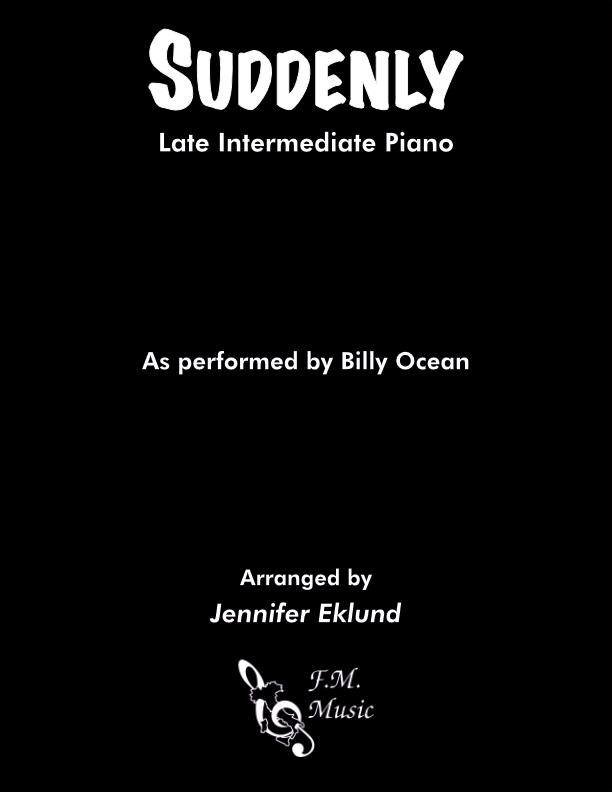 Suddenly (Late Intermediate Piano)