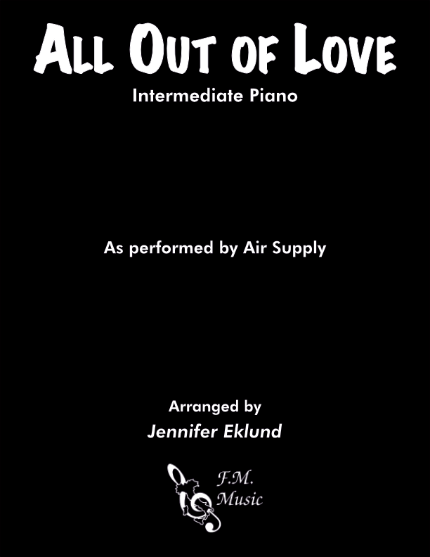 All Out of Love (Intermediate Piano)