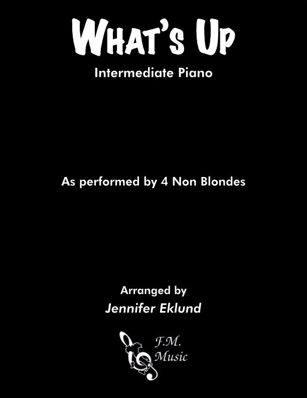 What's Up (Intermediate Piano)