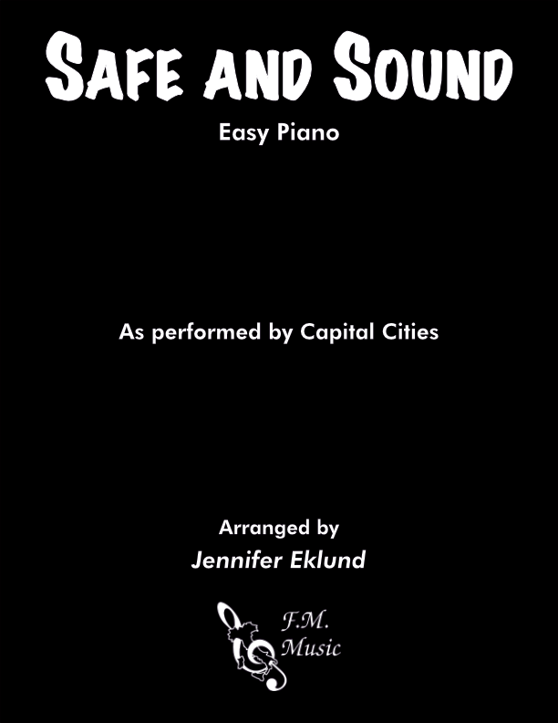 Safe and Sound (Easy Piano)