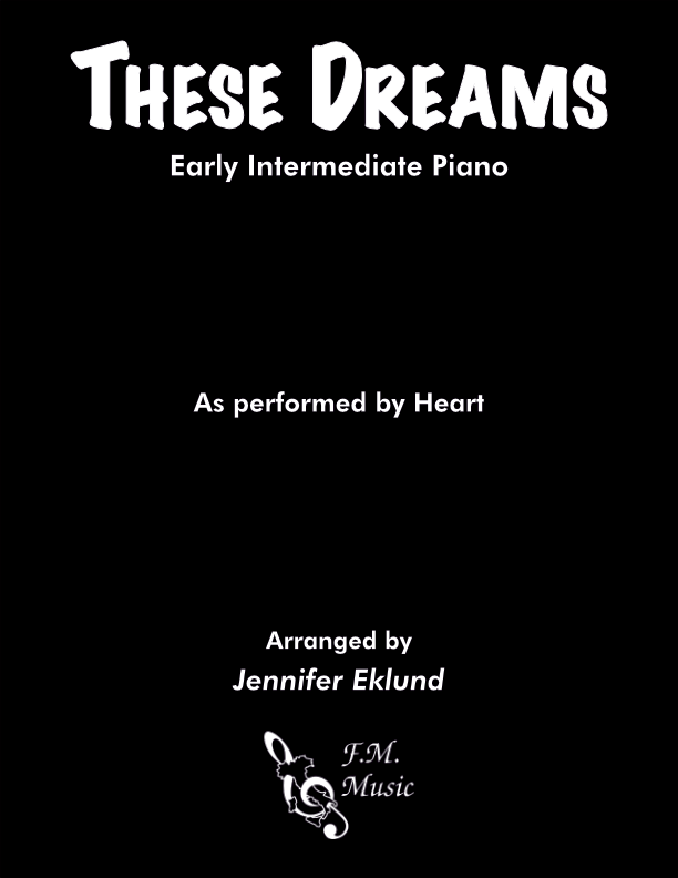 These Dreams (Early Intermediate Piano)