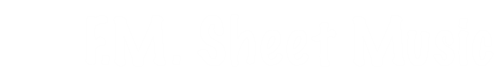 F.M. Sheet Music Logo